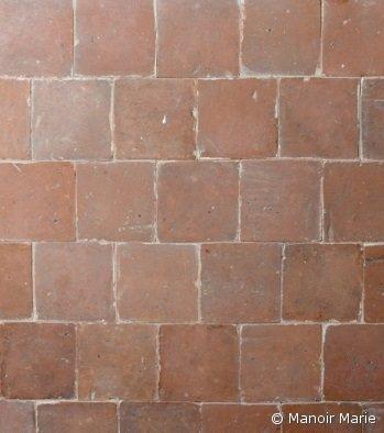 Manoir Marie - Oude terracotta oranje-rood