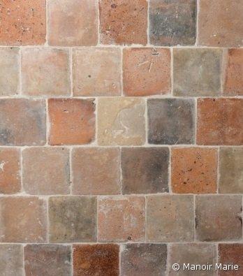Manoir Marie - Oude terracotta terra-oker-zalm