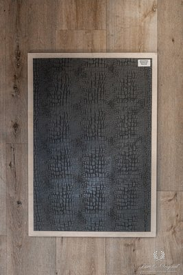 Croco print verfroller