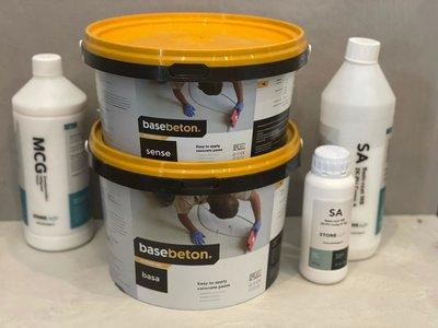 BaseBeton - kant en klaar  wandpakket