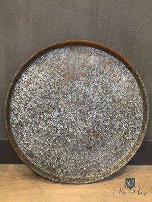 Dienblad grijs rond