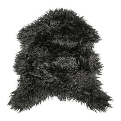 PTMD schapenvacht - Faux black fur carpet