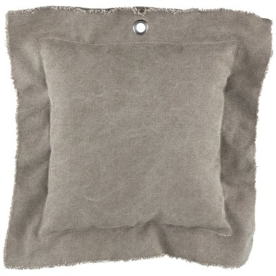 PTMD kussen - Mace canvas taupe