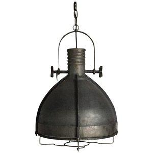 PTMD hanglamp - Denver grey iron industrial